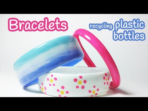 come riciclare la plastica in modo del tutto originale!