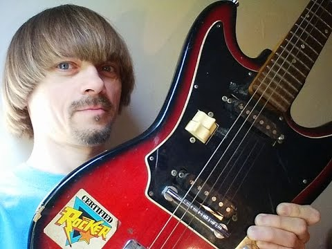 My First Electric Guitar 1985 -(Weird Paul) My Guitar Collection 2015 Guitars History Vintage Teisco
