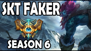 Full game: SKT T1 Faker Trundle vs Olaf TOP - rank Hàn Quốc