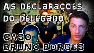 Segue neste vídeo o relato do delegado Fabrício Sobreira sobre as investigações do sumiço do acreano Bruno Borges.