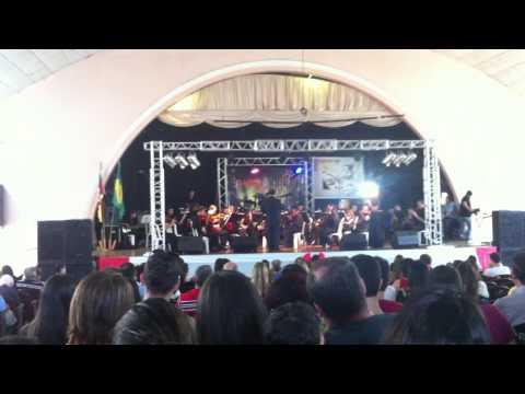 Orquestra Filarmônica Louvores de Sião no Sétimo Louvai em Cruz Alta RS