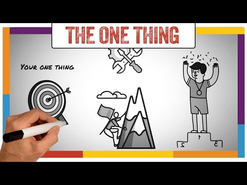 Watch 'The One Thing Summary & Review (Gary Keller) - ANIMATED - YouTube'