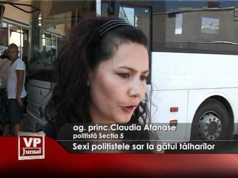 Sexi poliţistele sar la gâtul tâlharilor