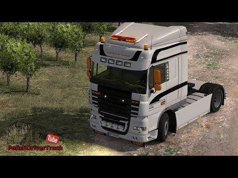 Ecco beacon bars Addon: Kelsa lightbar DAF XF 105 & 106 v1.0