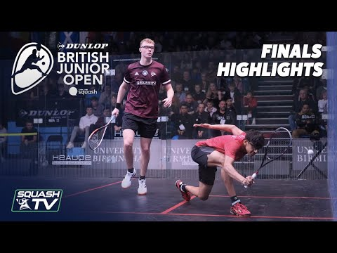 Squash: Dunlop British Junior Open 2020 - U17 & U19 Finals Highlights