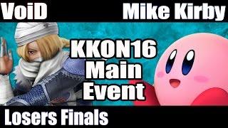 KKON16 Singles LF – VoiD vs. MikeKirby