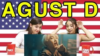 Fomo Daily Reacts To Agust D (Suga) -