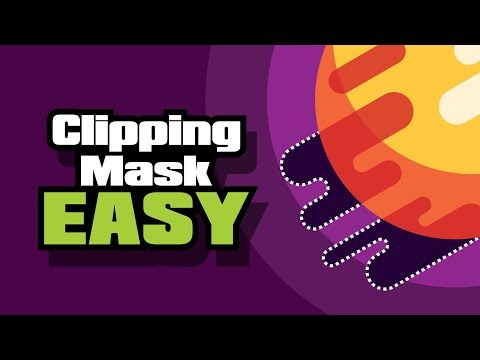 How To Make A Clipping Mask In Adobe Illustrator ( EASY Tutorial )