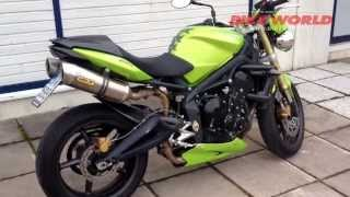 8. Bike World TV esittelee: Triumph Street Triple 2009