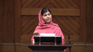 Video Malala Yousafzai Speaks at Harvard MP3, 3GP, MP4, WEBM, AVI, FLV Mei 2018