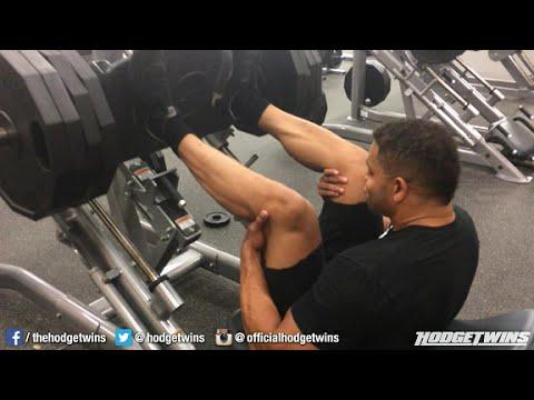 Leg Bodybuilding Routine @hodgetwins