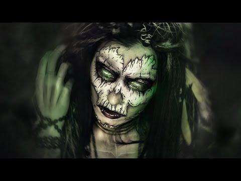 Voodoo Priestess · Maquillaje Halloween Ideas SFX Makeup Tutorial · Witch Doctor Easy Skull Calavera