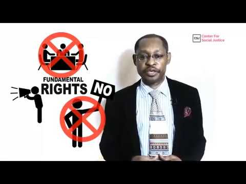 Barr. Eze Onyekpere speaks on the obnoxious anti-NGO bill in Nigeria