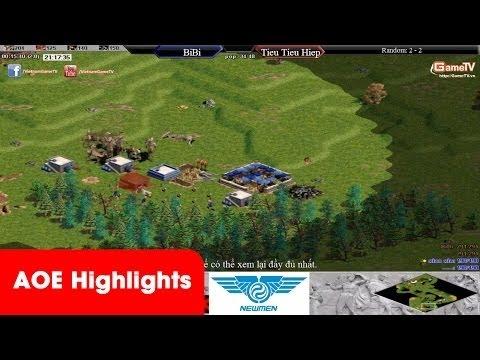 AOE HighLights - Hồng Anh 9p15 chém tan nát Hà Nội