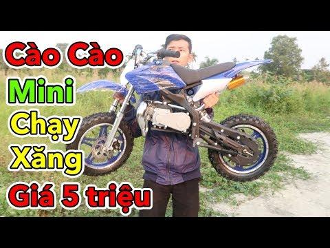 Lâm Vlog - Mua Xe Moto Cào Cào Mini 50cc Chạy Xăng Giá 5 triệu | Pocket Bike for Kids $200 - Thời lượng: 11:41.