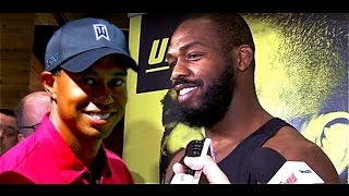 Jon Jones: Can't Compare Me to Tiger Woods Because I've Been Messing Up Longer by MMA Weekly