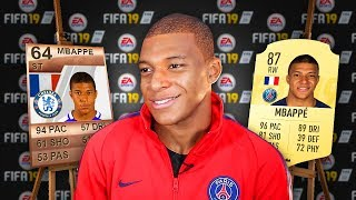 Video 5 FAMOUS Footballers & Their FIFA 19 RATINGS Then and NOW! (Mbappe, Messi, Ronaldo) MP3, 3GP, MP4, WEBM, AVI, FLV September 2018