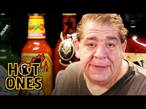 Comedian Joey CoCo Diaz Breaks Out the Blue Cheese While Eating Spicy