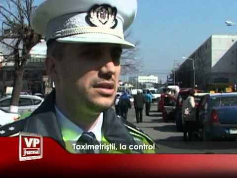 Taximetriştii, la control