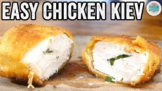 EASY CHICKEN KIEV RECIPE by  My Virgin Kitchen