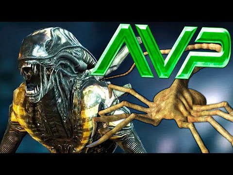 AVP - CELEBRATING ALIEN COVENANT w/ XENOMORPH WAR FARE - Gameplay (видео)