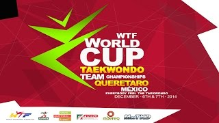 2014 WTF World Cup Team Championships - Day 1 Moring Session