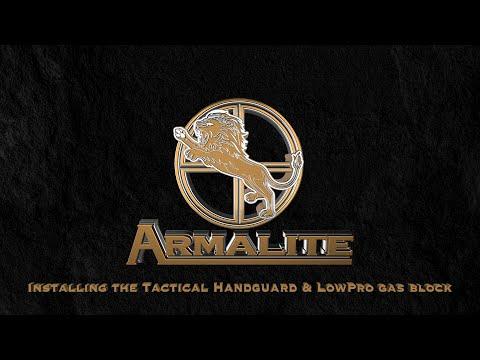 Installing an Armalite Handguard and Gas Block