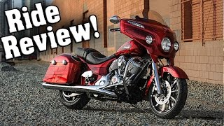 3. 2017 Indian Chieftain Elite Review / Indian Chieftain Elite First Ride