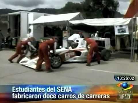 Réplicas de Fórmula 1 hechas por estudiantes del SENA