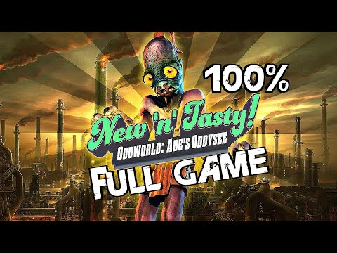 Oddworld New n Tasty - New n Hasty Full Speedrun [Hard Difficulty]