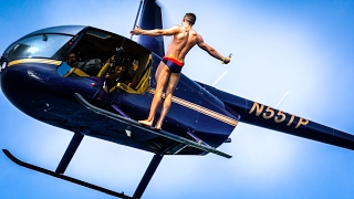 Video OLYMPIC MEDALIST BACKFLIPS OUT OF A HELICOPTER MP3, 3GP, MP4, WEBM, AVI, FLV Agustus 2018