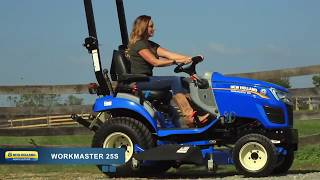 2. 2018 New Holland Workmaster 25S For Sale