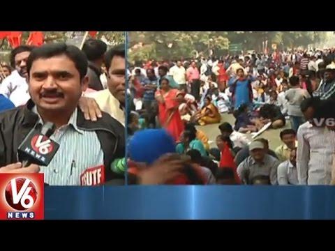 Teachers-Unions-Protest-Against-CPS-Policy-At-Jantar-Mantar-Delhi-V6-News
