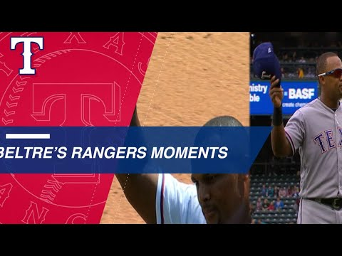 Video: Adrian Beltre's memorable moments with the Rangers