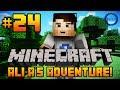 "Minecraft - Ali-A's Adventure #24! - ""MORE BOOKSHELVES!"""