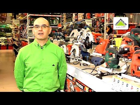 Cómo elegir sierras eléctricas  (Leroy Merlin)