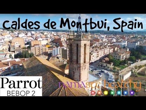 Caldes de Montbui, Catalonia (Spain) - Drone Video