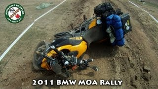 8. F800Gs and HP2 Crash at the BMW Motorcycle Owners of America Rally 2011