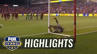 Real Salt Lake vs. Seattle Sounders FC | 2017 MLS Highlights by FOX Soccer