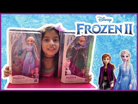 Frozen 2 (Elsa y Ana Review) | Frozen 2 UNBOXING - Frozen 2019 review Elsa y Ana