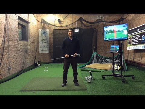 Chicago Golf Lessons – Indoor Golf Practice