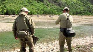 Dry fly fishing Chilean Patagonia
