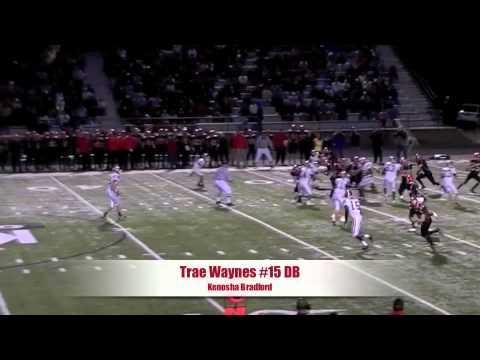 Trae Waynes High School Highlights video.