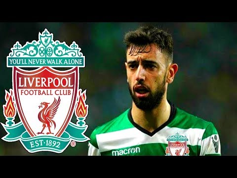 BRUNO FERNANDES WANTS LIVERPOOL MOVE | PREFERS LFC OVER MAN CITY & DREAMS OF PREMIER LEAGUE