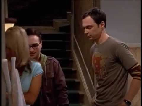 Everyone meets Penny for the first time - The Big Bang Theory
