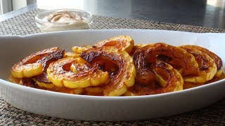Delicata Squash - How to Prep and Cook Delicata Squash - Healthy Holiday Snack by Food Wishes