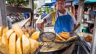 Video Indonesian Street Food Tour of Glodok (Chinatown) in Jakarta - DELICIOUS Indonesia Food! MP3, 3GP, MP4, WEBM, AVI, FLV Mei 2019