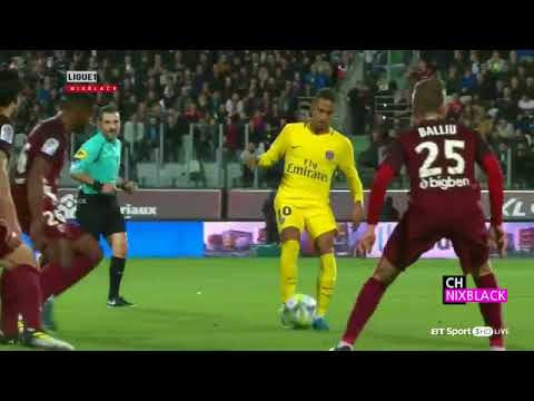 PSG vs Metz 5-1 - All Goals and Extended Hightlight - 2017 HD