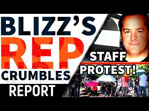 Blizz PANIC   Staff PROTEST, Further Dissent QUASHED! CEO's Cowardly Silence, Epic's ATTACK + MORE