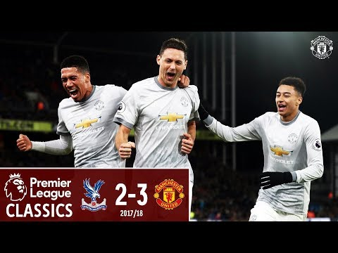 Crystal Palace 2-3 Manchester United | Last Time Out | Premier League Classics